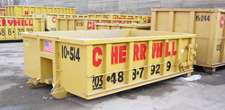 roll off containers dumpsters storage containers rentals conn